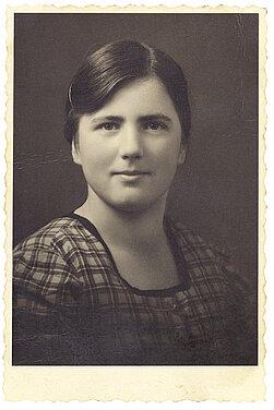 Portraitfoto von Katharina Lampert, ermordet im Februar 1941 in Hartheim